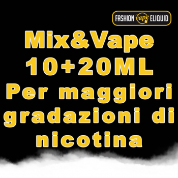 Liquidi da Inalazione Mix & Vape 10+20ml