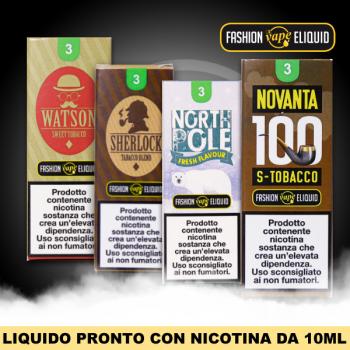 Liquidi pronti da 10ml CON nicotina