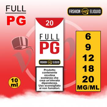 Booster Full PG con Nicotina per Sigarette Elettroniche